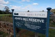 Johns Hill Reserve Lookout