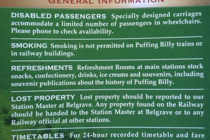 Puffing Billy Railway 10