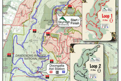 21.5k Course Map